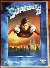 Superman II (Christopher Reeve) DVD in EXCELLENT condition (Region 4 PAL)