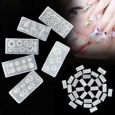 3D Three-dimensional Silicone AB Crystal Epoxy UV Silicone Mold Nail Art DIY