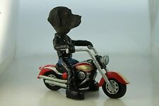 LABRADOR CHOCOLATE    DOG ON A MOTORCYCLE(SEE ALL BREEDS  BODIES @ EBAY STORE