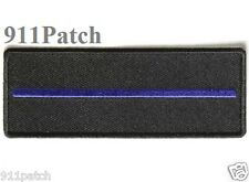 Thin Blue Line Law Enforcement Police Patch - Iron On