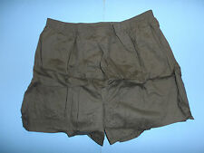b5197p US Vietnam OD underwear Drawers OG-109 x large 3 pair W3F