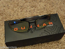 Gunnar Optiks PPk Advanced Computer/Gaming Eyewear - Onyx/Mercury - Amber