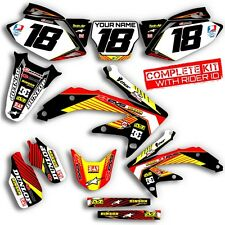 2004 2005 HONDA CRF 250R DIRT BIKE GRAPHICS KIT CRF250R  DECO MX DECALS