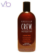 AMERICAN CREW Liquid Wax 150ml - Medium Hold Shine Gel For Men NEW!