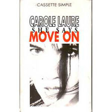 K7 Cassette tape Carole LAURE She says move on - cassette single - Cassette Fnac