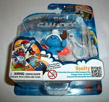 The Smurfs Swaps VANITY Figure Clip-For iOS & Android Smurf World Game App NEW