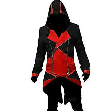 2016 Cool Stylish Creed Hoodie Men's Cosplay For Assassins Jacket Coat Costume