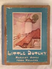 Anne Anderson / Rie Cramer - Little Dutchy - 1st/1st 1925 - 12 Beautiful Plates