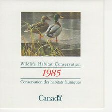 CANADA - DUCK STAMP BOOKLET - CN1 (FWH1) - FINE MINT - 1985