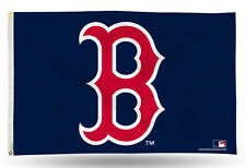 "Boston Red Sox with ""B"" Logo MLB Banner Flag 3' x 5' (36"" x 60"") ~NEW"
