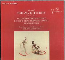Puccini: Madama Butterfly / Leinsdorf, Moffo, Valletti - LP Rca Sealed