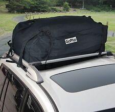 Car Carrier Cargo Luggage Bag SUV Van Roof Top Travel Storage Rack Waterproof