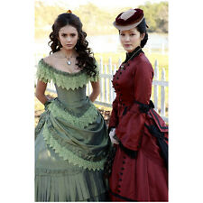 The Vampire Diaries Kelly Hu with Nina Dobrev Dressed Past 8 x 10 inch Photo