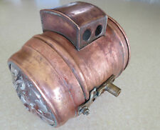 Vintage 1910s carbide head lamp for Indian Harley Excelsior Thor Pope Merkel