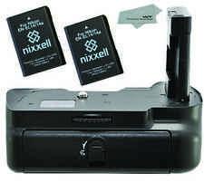 NX-NBGD5100-2BATT-MF Replacement Battery Grip for Nikon D5100 +2 x NX-ENEL14 +MF