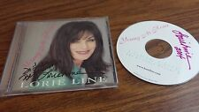 Lorie Line Young At Heart Double Signed Autograph Cd Country Music