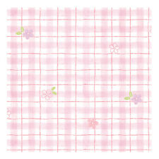 Pink Check Pattern Self Adhesive Wallpaper Prepasted Home Depot for Living Rooms