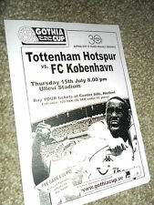 2004 PRE SEASON FRIENDLY FC KOBENHAVN V SPURS TOTTENHAM HOTSPUR