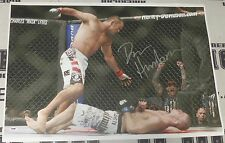 Dan Henderson Signed UFC 100 KO 20x30 Canvas Photo PSA/DNA COA Picture Autograph