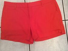 Women's Tomato Red Patagonia Outdoor Athletic Hiking Shorts Size 12