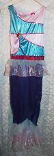Girls Wink Club Costume Dress Sz M 7-8 Mermaid Pink Blue Fairy Tail