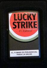 rare Zippo  lucky strike very limited edition  from argentina 2008