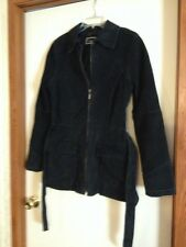 Ladies Fashion Coat Size L Marcelle Renee (Leather)