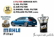 FOR VAUXHALL SIGNUM 1.9 CDTi 2004-2009 OIL AIR FUEL POLLEN FILTER SERVICE KIT
