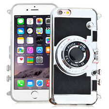 Housse Coque Silicone TPU Video appreil photo NOIR Apple iPhone 6/ iPhone 6s