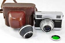 5957 Werra Objektiv Carl Zeiss Jena Tessar 2,8/50 DDR Fotoapparat Kamera
