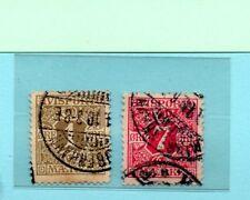 Dinamarca Valores para periodicos año 1907 (BP-818)
