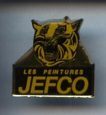 RARE PINS PIN'S ..  ANIMAL TIGRE TIGER / PEINTURE JEFCO BTP ¤2T