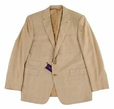 Ralph Lauren Purple Label Plaid Cashmere Blazer Jacket 44 R New $4695