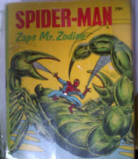 SPIDER-MAN ZAPS MR. ZODIAC Big Little Book 5779-2 FN