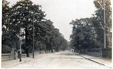 Didsbury Barlow Moor Road unused sepia RP old postcard