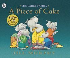 A Piece of Cake by Jill Murphy Paperback with Story CD (Large Family)