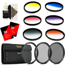 Vivitar 67mm Rotating Graduated 6pc Filter with Top Accessory Bundle
