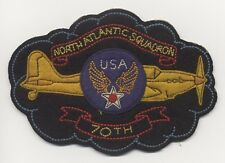 Rare Early WWII USAAF 70th Ferrying Squadron (N. Atlantic) Canadian-Made Patch