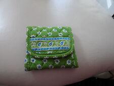 Vera Bradley trifold wallet in Green Apple (#2)