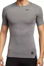 Men's Nike Pro Cool Dri-Fit Compression Shirt Size LARGE  Grey 703094-091 NWT
