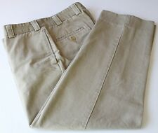Bills Khakis M2 Model Flat Front Pants 100% Cotton Made in USA 33W
