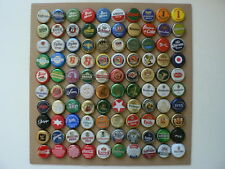 EUROPE lot 100 beer , soda bottle caps ,   kronkorken   crown caps  (n)