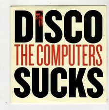 (FZ417) The Computers, Disco Sucks - 2012 DJ CD