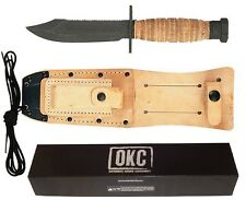 OKC GI Military Issue Pilot Tactical Army & Air Force Survival Knife 3278