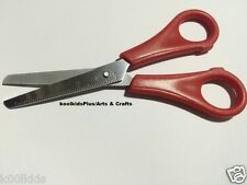 CHILDREN RULED BLUNT ENDED SAFETY SCISSORS. GREAT QUALITY, KIDS CRAFT SUPPLY