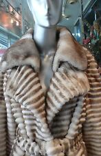 TODAY ONLY!  Winter MINK FUR COAT Champagne Beige Crystals  WAS $4450  NOW $2850