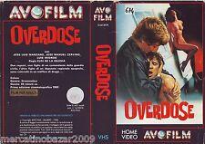 OVERDOSE El pico (1983) COVER VHS 1ª EDIZIONE AVOFILM 1986, NO VHS