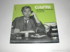 SINGLE JOAN CAPRI - DE MADRID A BARCELONA / L´INVENTOR - VERGARA 1962 VG+