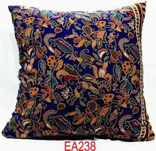 EA Soft Cotton Blend Flower Plant Pattern Cushion Cover/Pillow Case Custom Size