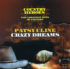 "Patsy Cline ""Crazy Dreams"" Country Heroes 16 Tracks New & Sealed Dynamic 2007"